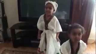 5 years old Ethiopian girl Dancing Traditional Amharic Dance