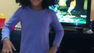 5 years old dancing  with traditional amharic music - Jacky gosee